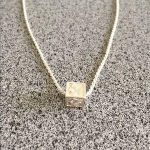 Hawaiian Jewelry cube necklace